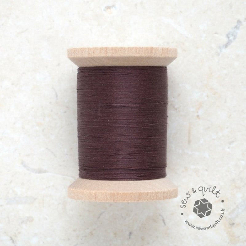 Brown Cotton Quilting Thread 1000yd