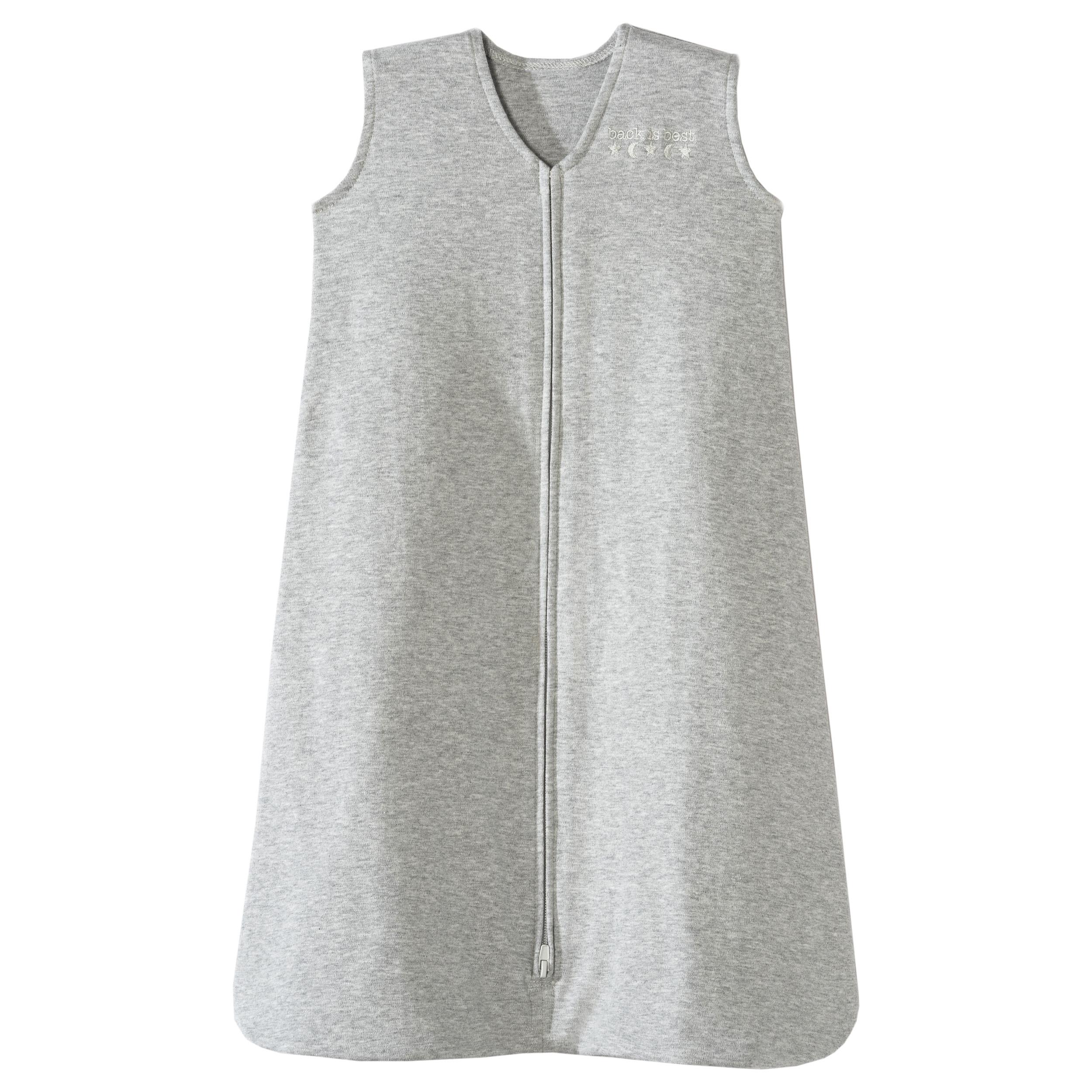 HALO SleepSack Wearable Blanket Cotton Solid Gray - SM