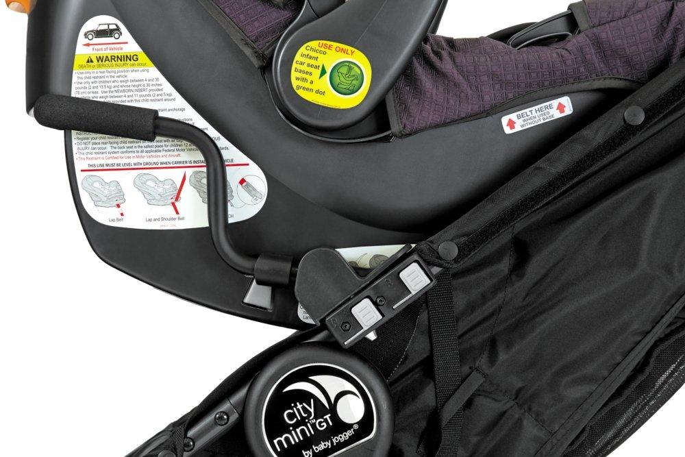 Baby Jogger Car Seat Adaptor-MB Single - Peg/Chicco/Nuna/Maxi Cosi