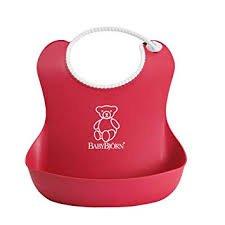 BABYBJORN Baby Bib  - RED