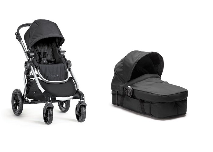 Baby Jogger City Select Stroller With Pram Kit - Onyx
