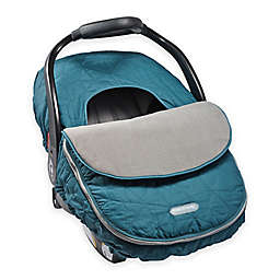 JJ Cole CAR SEAT COVER - TEAL FRACTAL