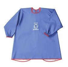 BABYBJORN Long Sleeve Bib BLUE