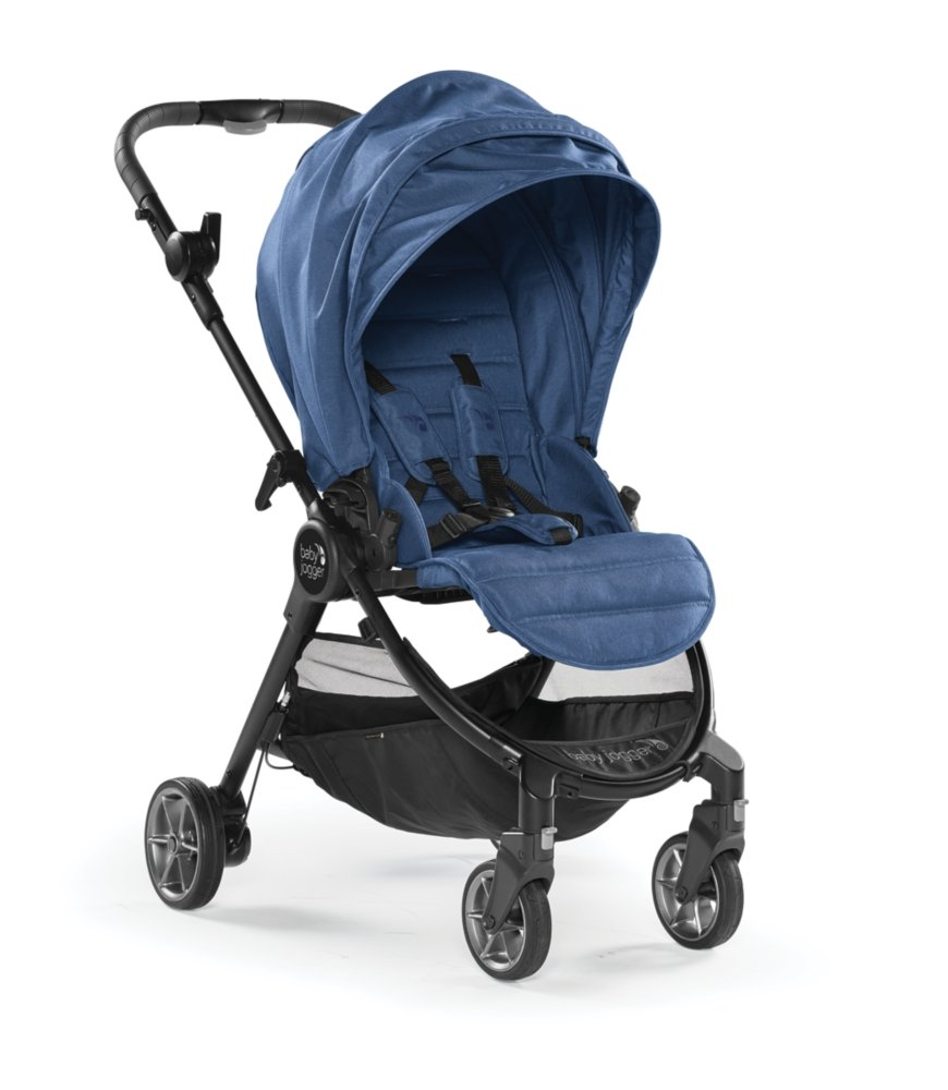 Baby Jogger City Tour LUX - Iris Blue  With Belly Bar And Weather Shield