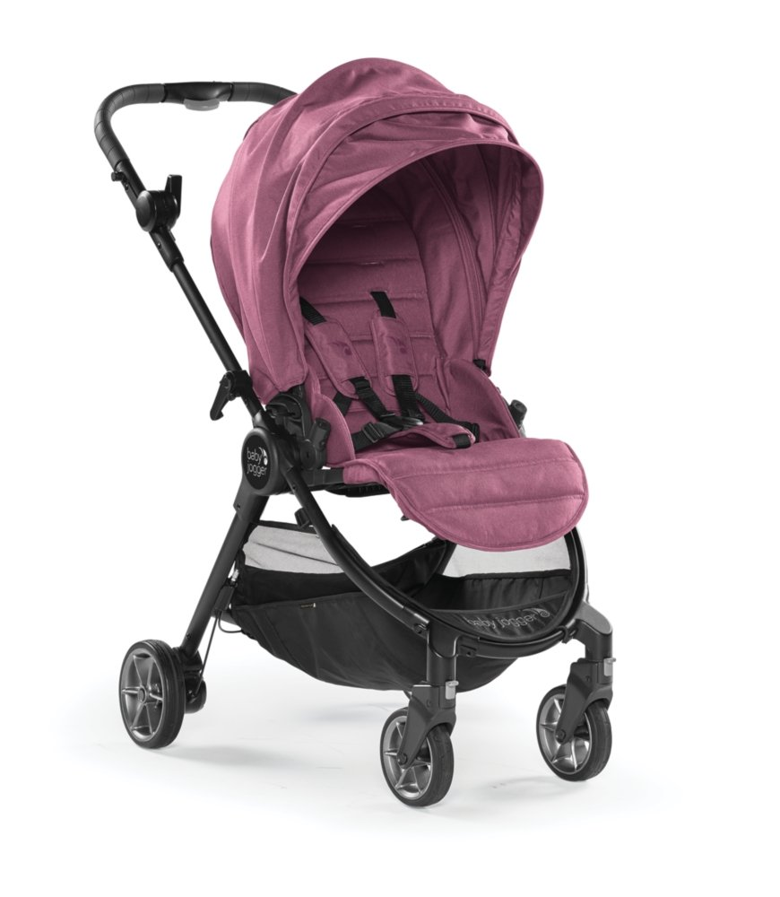 Baby Jogger City Tour LUX - Rosewood With Belly Bar And Weather Shield