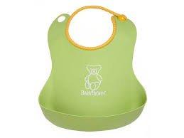 BABYBJORN Baby Bib  - LIME GREEN