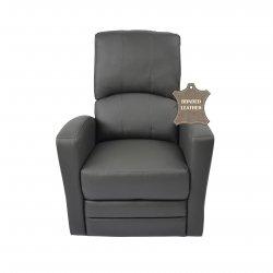 Kidiway Habana Bonded Leather Chair - Grey