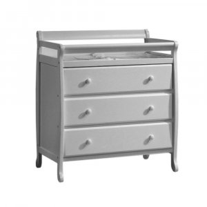 Kidiway Venice 3-Drawers Dresser - Grey (CURBISDE PICK-UP ONLY)