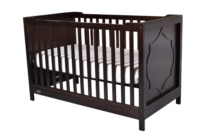 Kidiway Moon 4-in-1 Convertible Baby Crib - Java (PICK-UP ONLY)