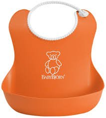 BABYBJORN Baby Bib  -ORANGE