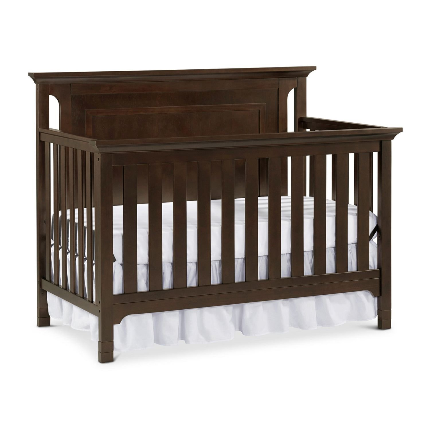 Ti Amo Carino Convertible Crib - Dark Roast (CURBISDE PICK-UP ONLY)