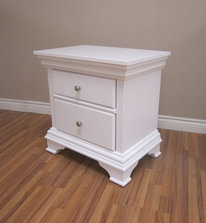 HAMPTON Night Stand - WHITE