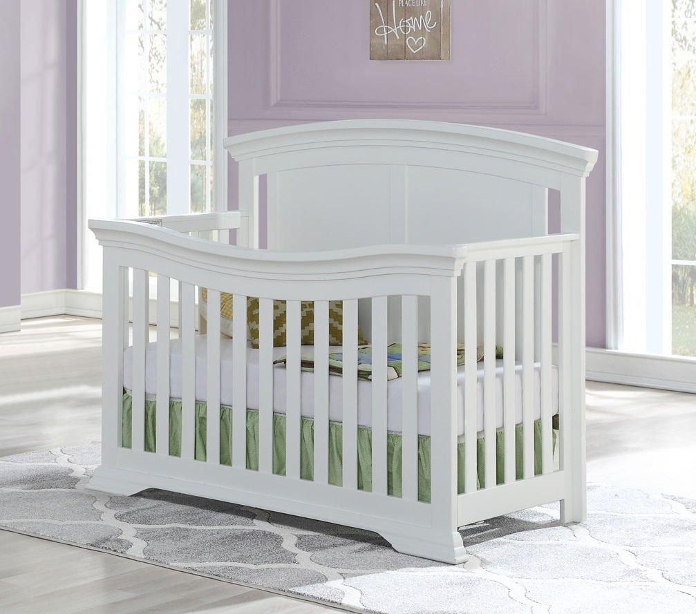 WELLINGTON Convertible Crib - WHITE