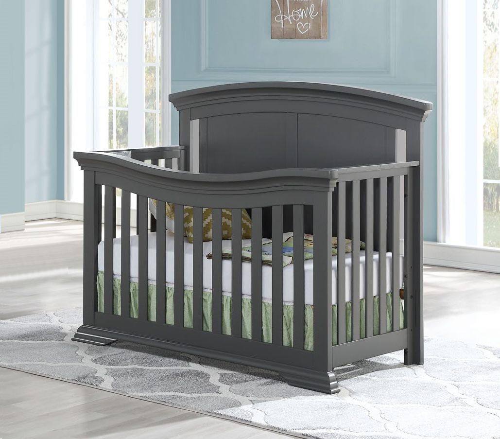 WELLINGTON Convertible Crib - GREY