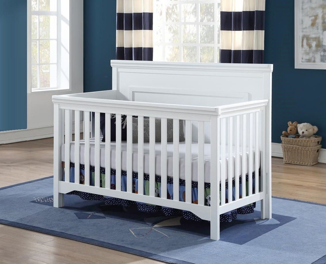 PEYTON Convertible Crib - WHITE (CURBISDE PICK-UP ONLY)