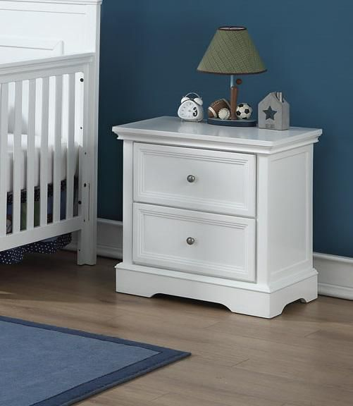 BROOKLYN Night Stand - WHITE