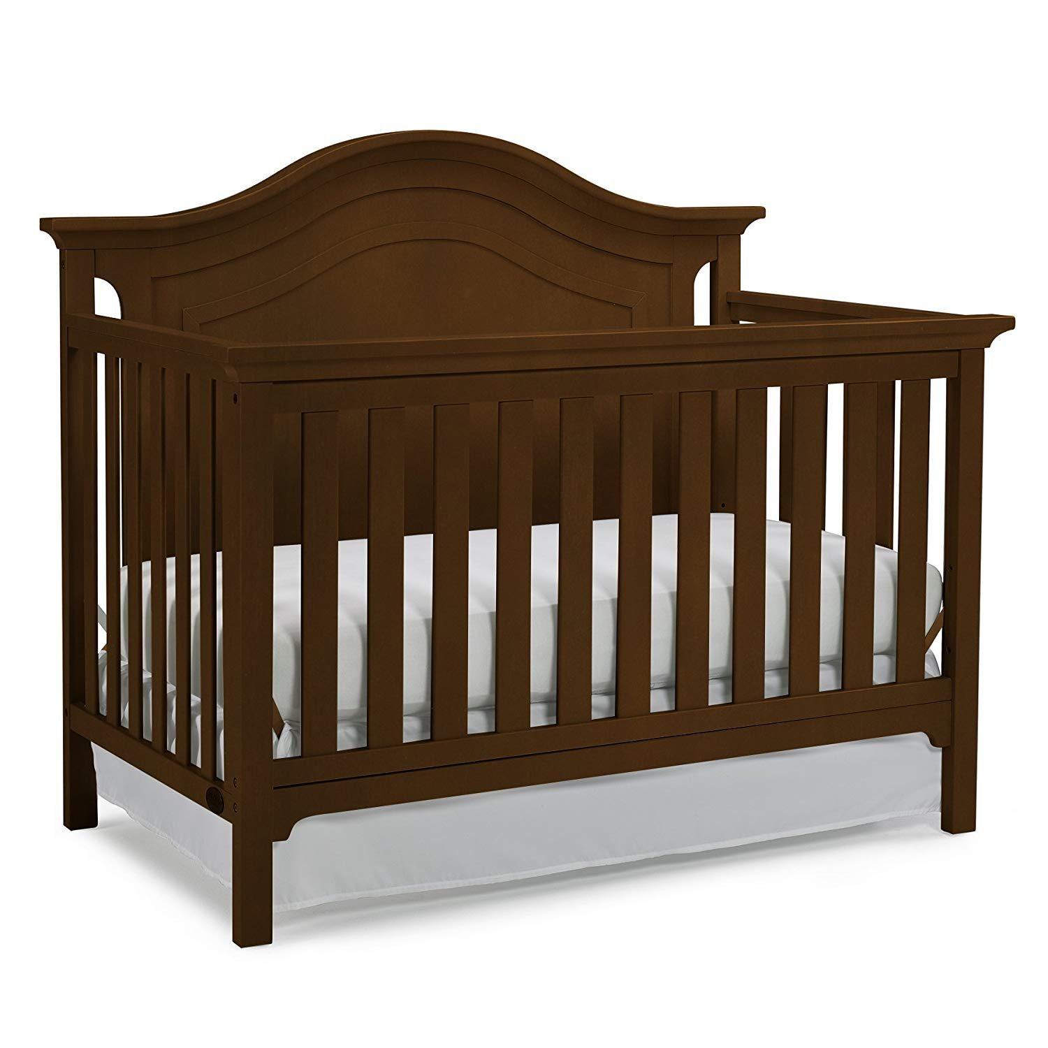 Ti Amo Catania Convertible Crib - Dark Roast (CURBISDE PICK-UP ONLY)