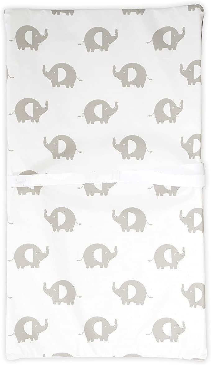 KidiComfort Change Pad - Grey Elephants