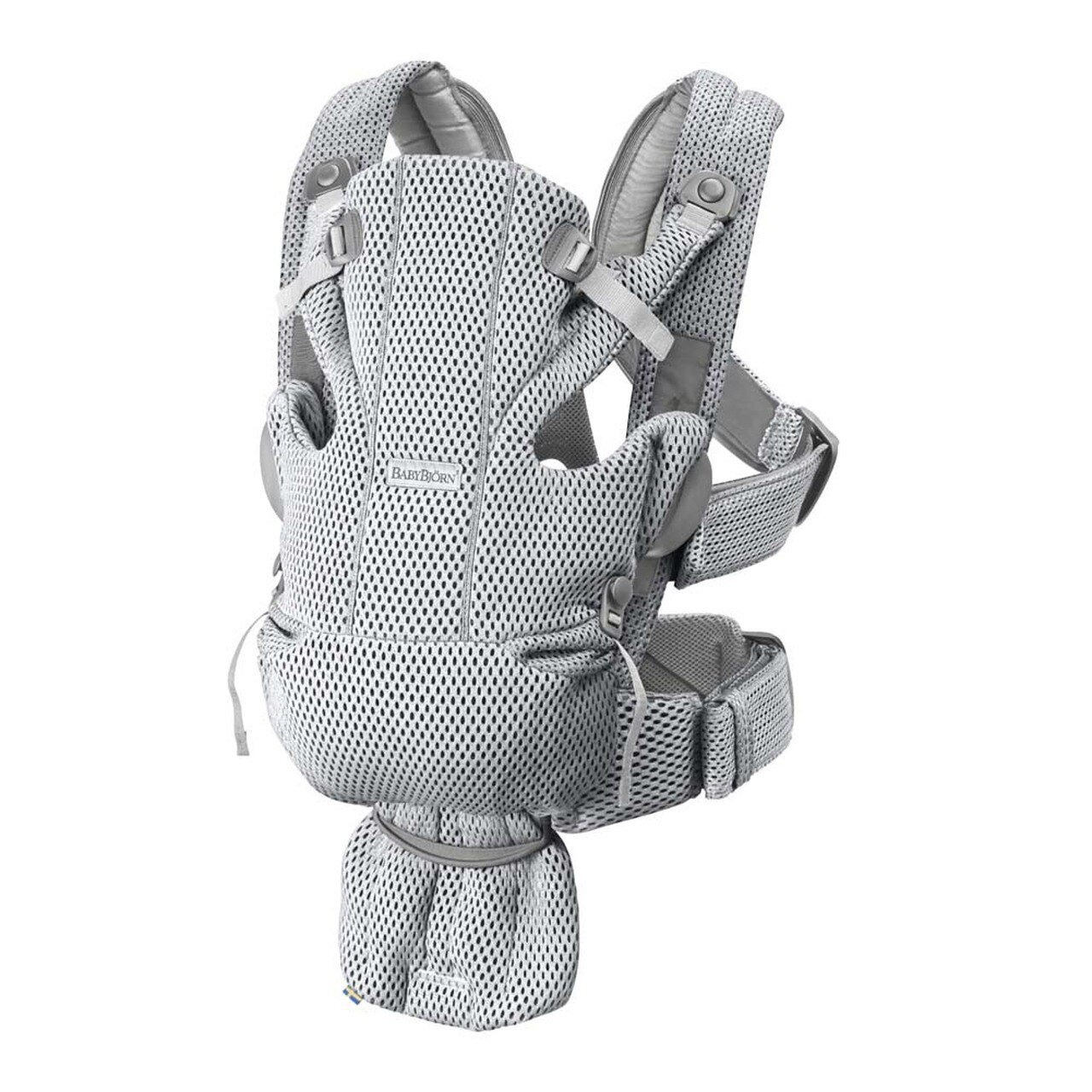 BabyBjorn Baby Carrier Free - 3D Mesh - Grey