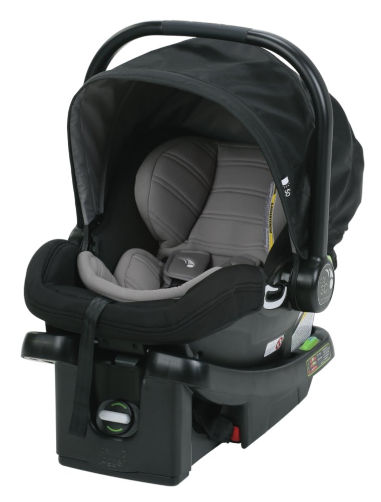 Baby Jogger City GO Car Seat - Black with Grey