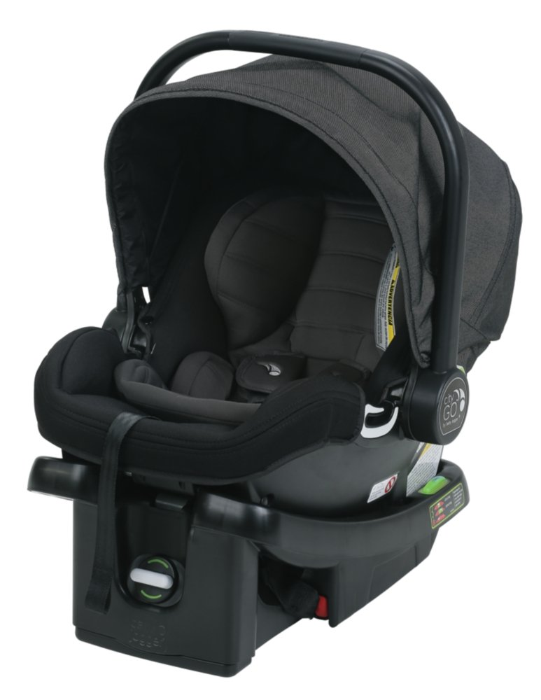 Baby Jogger City GO Car Seat - Charcoal (MFG Date: 12/2019)