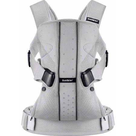 BABYBJORN Baby Carrier One - Silver Mesh