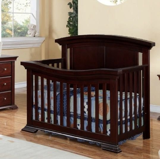 WELLINGTON Convertible Crib - JAVA