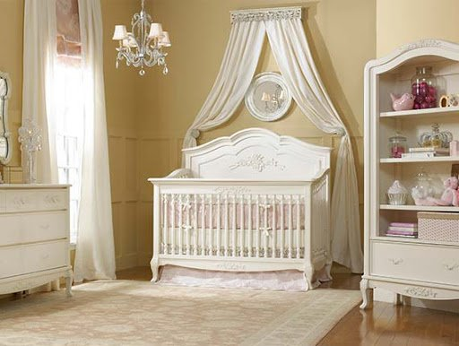 Dolce Babi Angelina 8pc Furniture Set - French Vanilla (PICK-UP ONLY)