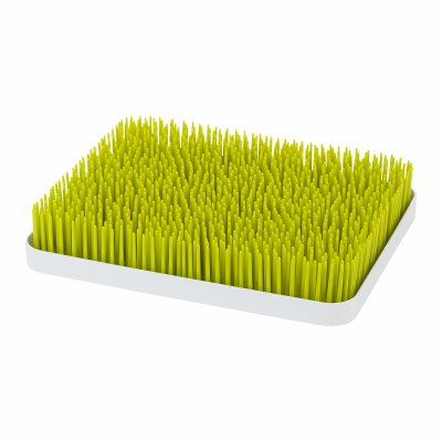 Boon LAWN COUNTERTOP DRYING RACK SPRING GREEN/WHITE