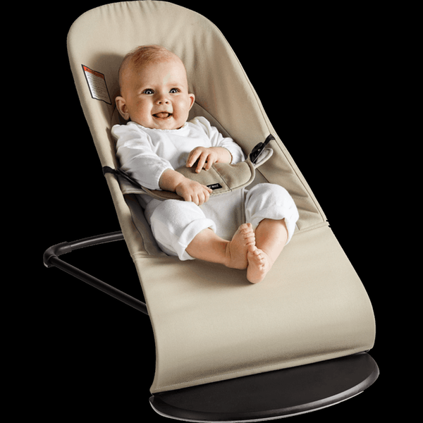 BABYBJORN  Bouncer Balance Soft, Cotton - Khaki/Beige