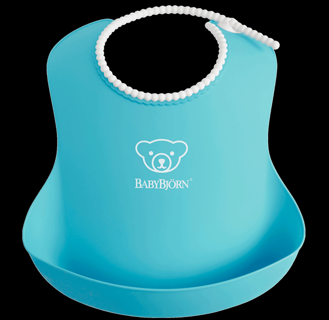 BABYBJORN Baby Bib  - Turquoise