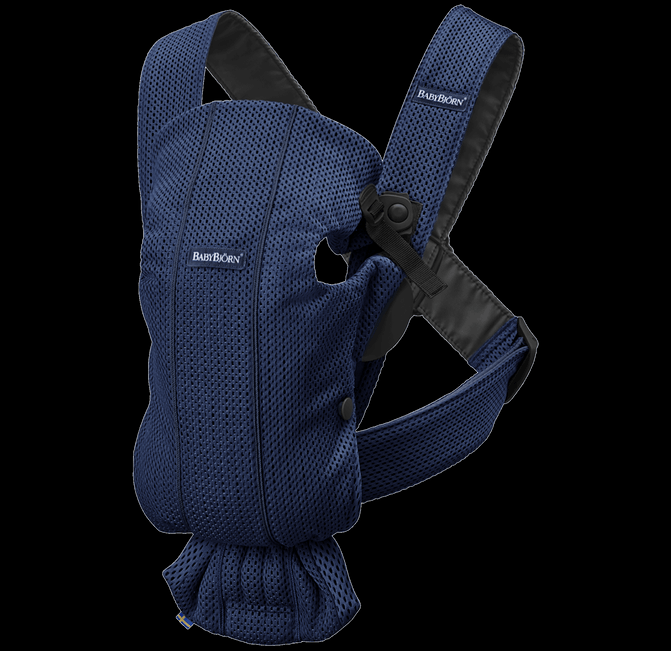 BABYBJORN Baby Carrier Mini, 3D Mesh - Navy