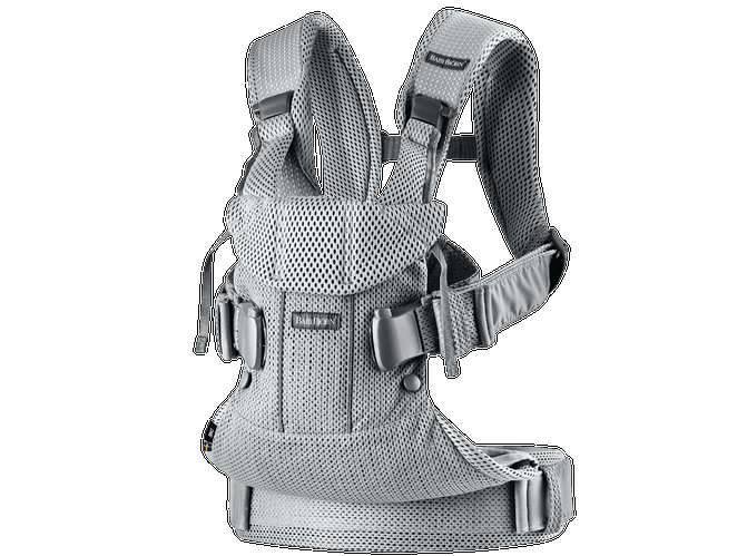 BABYBJORN Baby Carrier One, Air - Silver