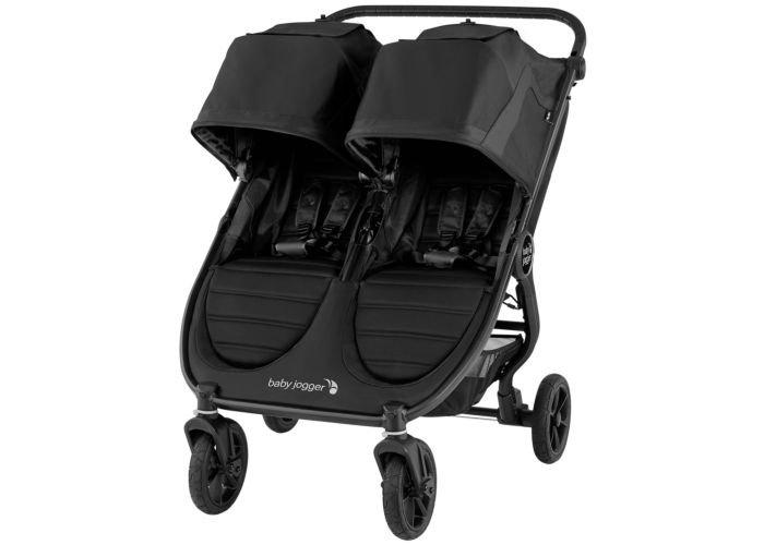 Baby Jogger City Mini GT 2 Double - Black Jet