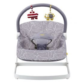 Bababing Float Bouncer - Jungle Grey