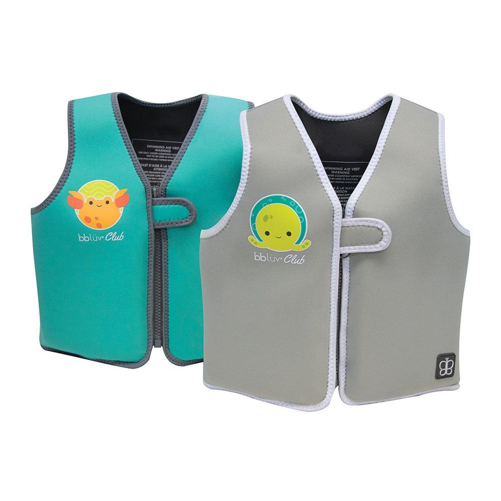 BBLuv Naj - Evolutive Swim Vest (Grey - 1-3 years)