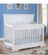 Garnet Convertible Crib - White (CURBISDE PICK-UP ONLY)