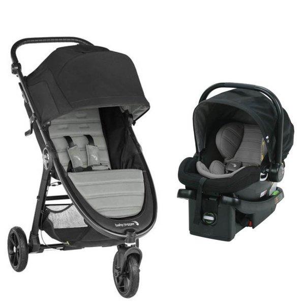 Baby Jogger City Mini GT2 Stroller w/ City Go Car Seat - Slate