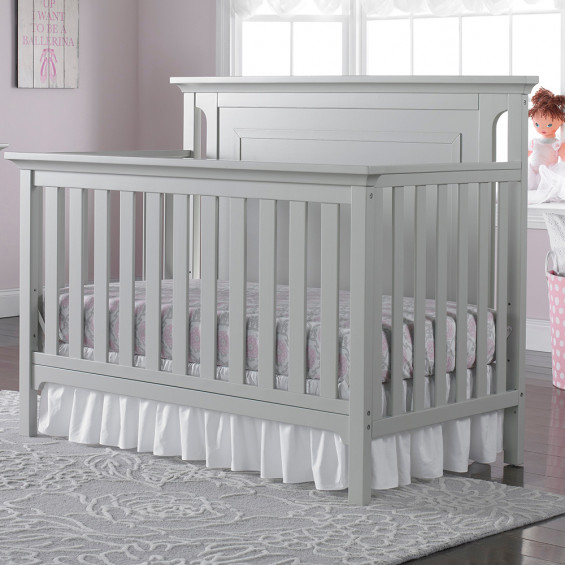 Carino Crib - Light Grey (CURBSIDE PICK-UP ONLY)