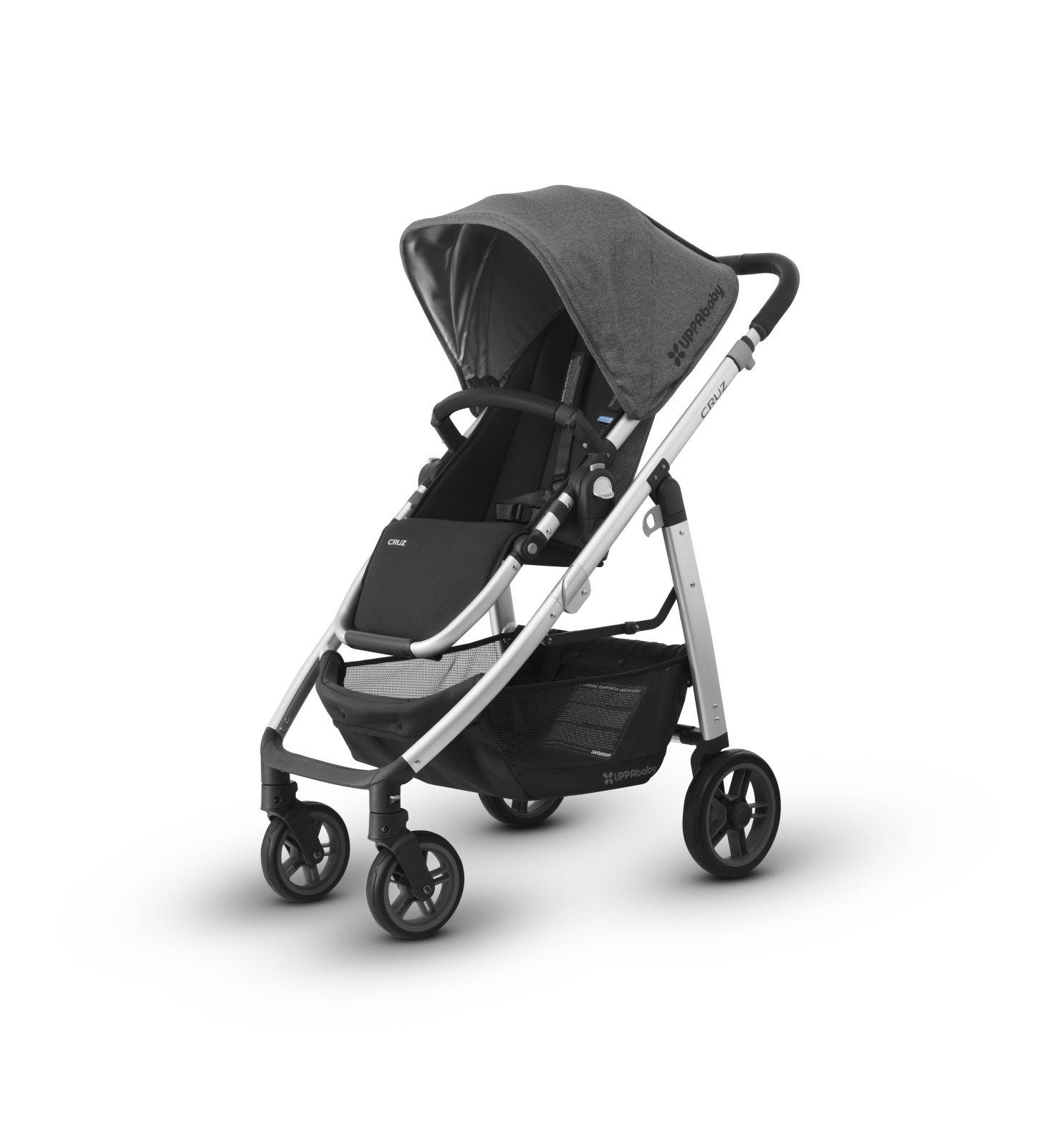 UPPAbaby CRUZ Stroller - JORDAN (Charcoal/Silver)