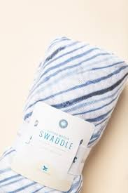 Little Unicorn Cotton Muslin Swaddle Single - Ripple