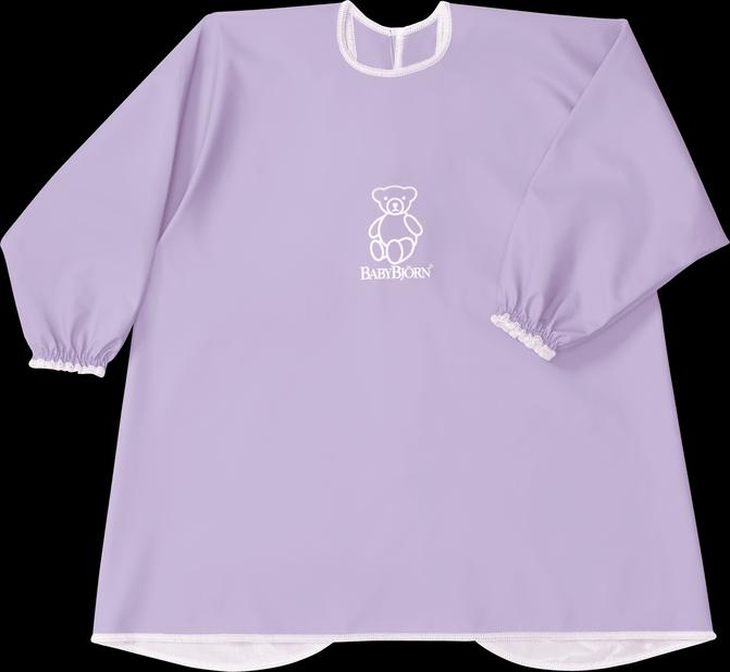 BABYBJORN Long Sleeve Bib Purple