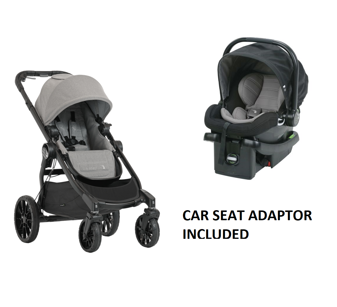 Baby Jogger City Select Lux Stroller w/ City Go Car Seat
