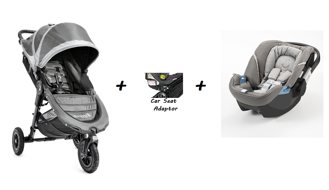 Baby Jogger City Mini GT Stroller AND Cybex Aton 2 Car Seat (Package Promo)