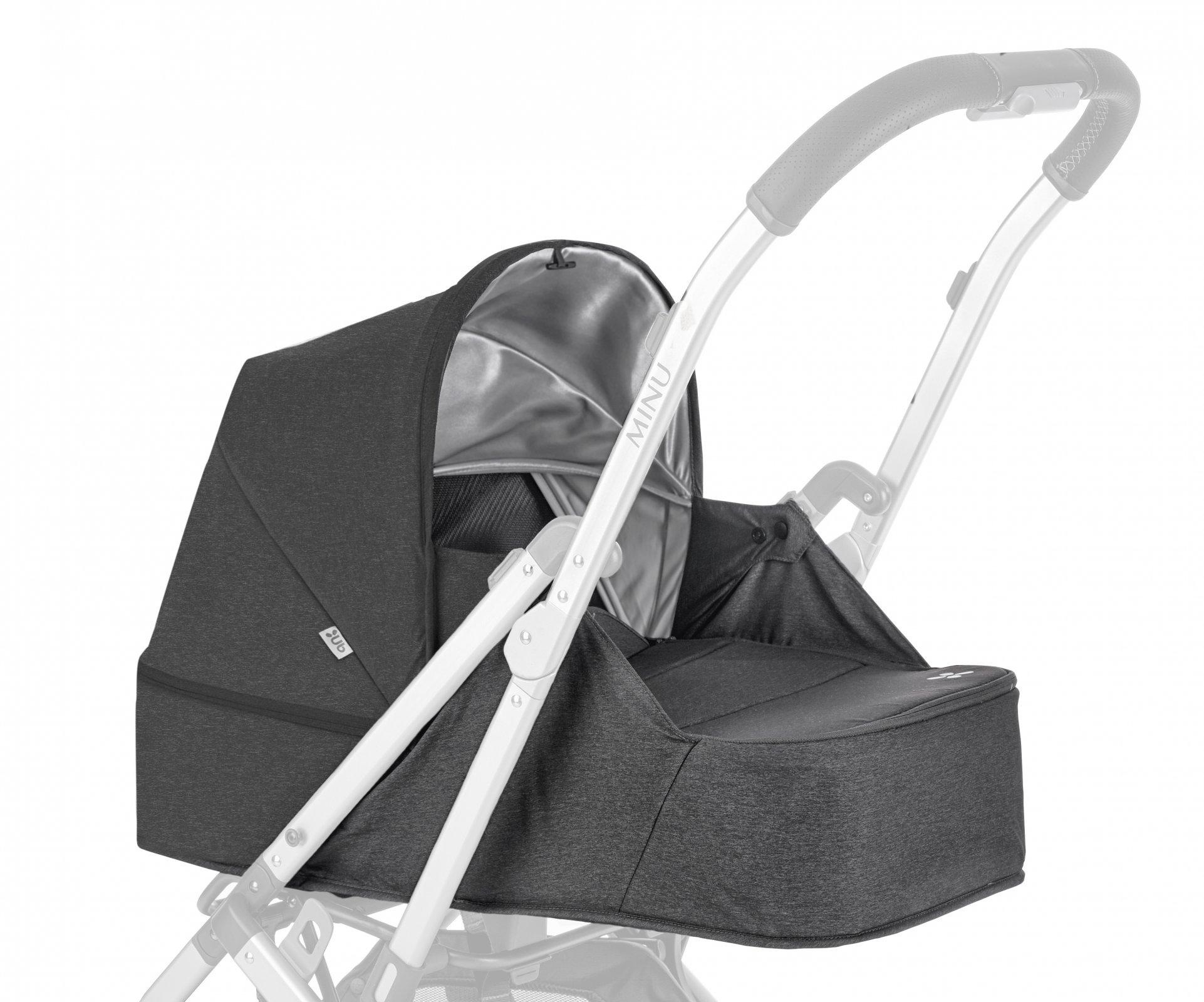 UPPAbaby MINU From Birth Kit - JORDAN (Charcoal Melange)