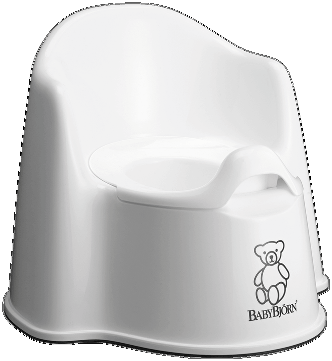 BABYBJORN Potty - White