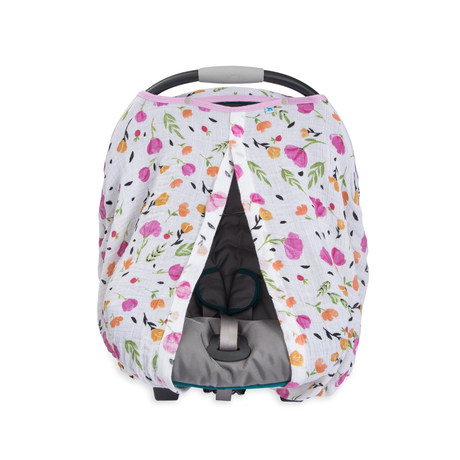 Little Unicorn Cotton Muslin Car Seat Canopy - Berry & Bloom