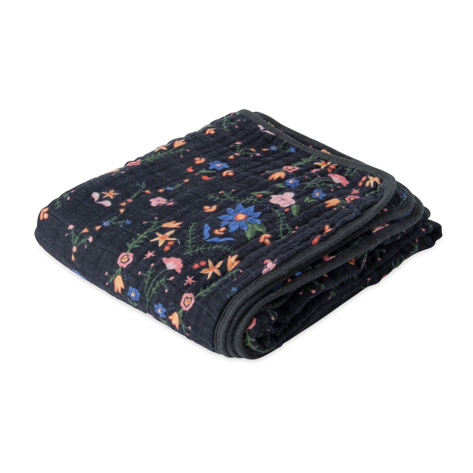Little Unicorn Cotton Muslin Quilt - Floral Stitch