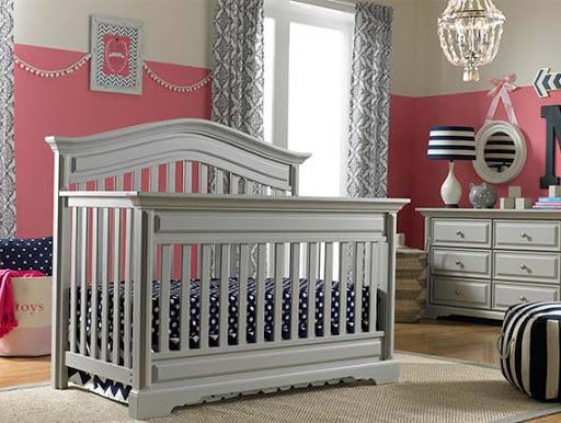 Dolce Babi Venezia 7pc Furniture Set - Misty Grey(PICK-UP ONLY)