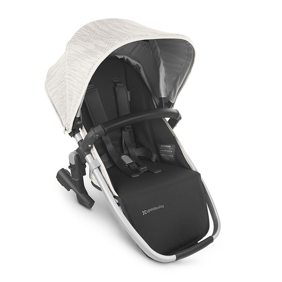 UPPABaby VISTA V2 RumbleSeat - SIERRA (Dune Knit/Silver/Black Leather)